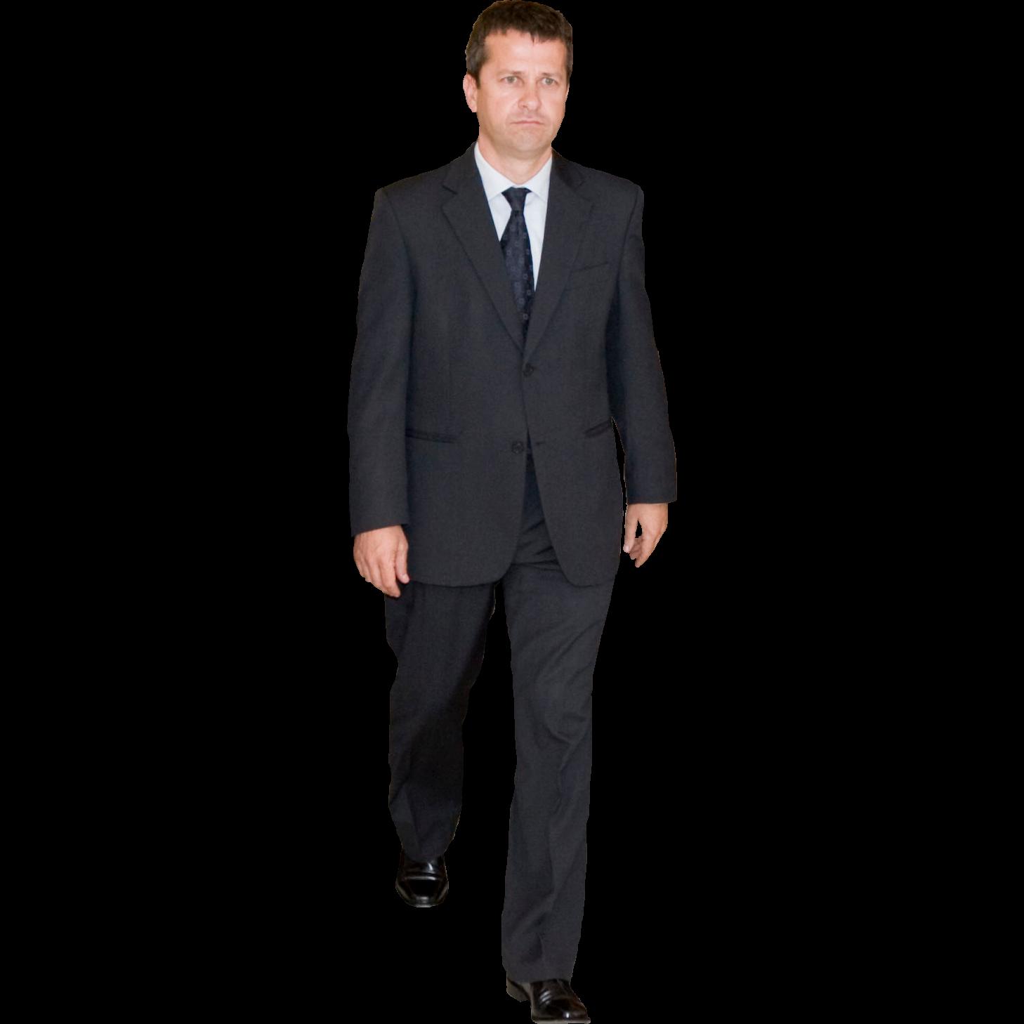 Suit PNG Transparent Image - Person In A Suit PNG