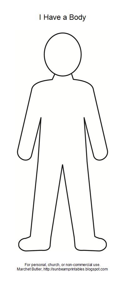 body outline clipart - Google Search - Person Outline Clip Art