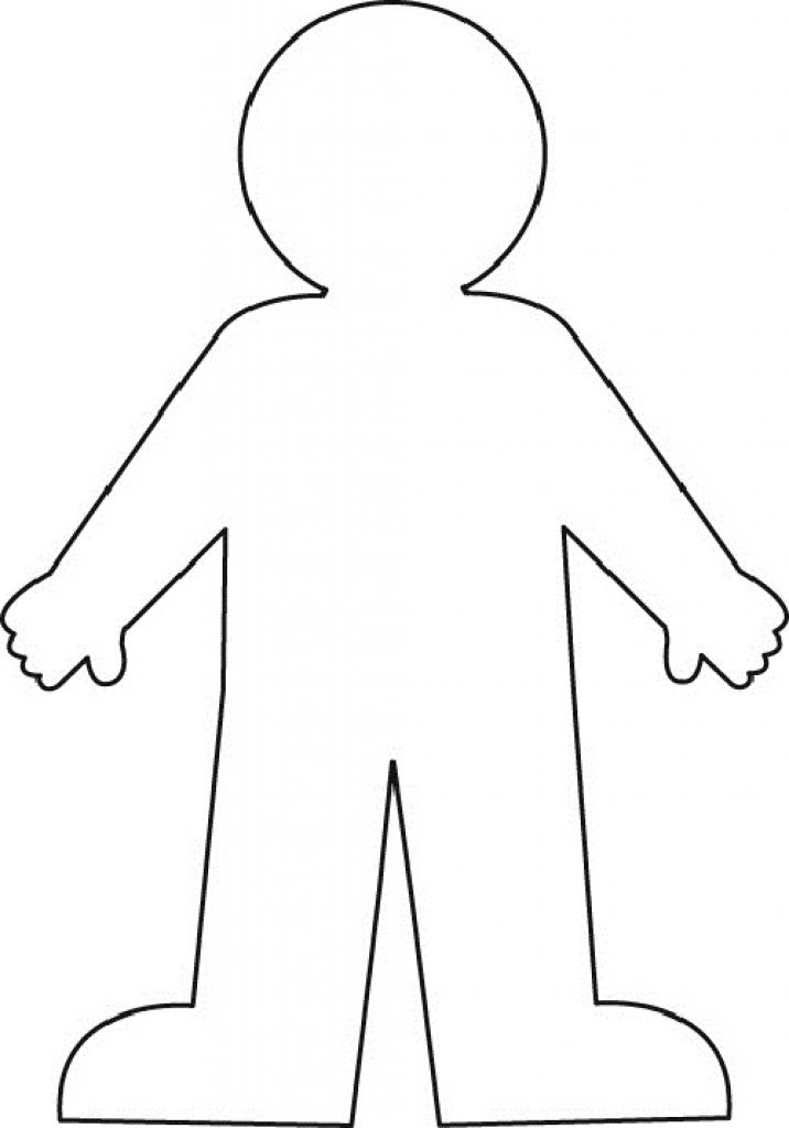 Person Outline Clip Art - 71228