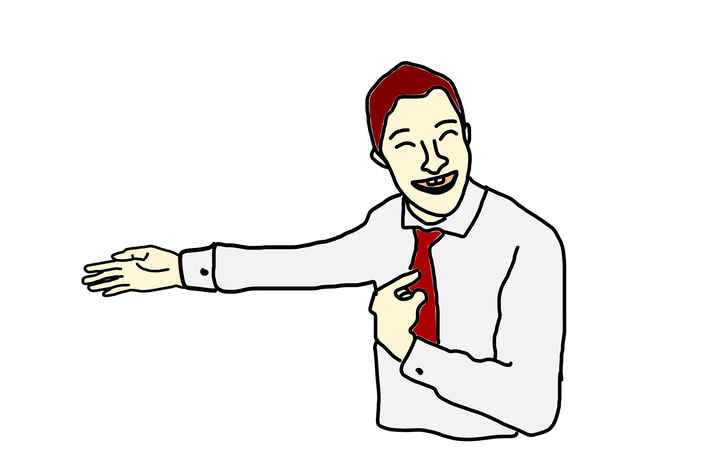 Person Pointing At Himself PNG - 47353