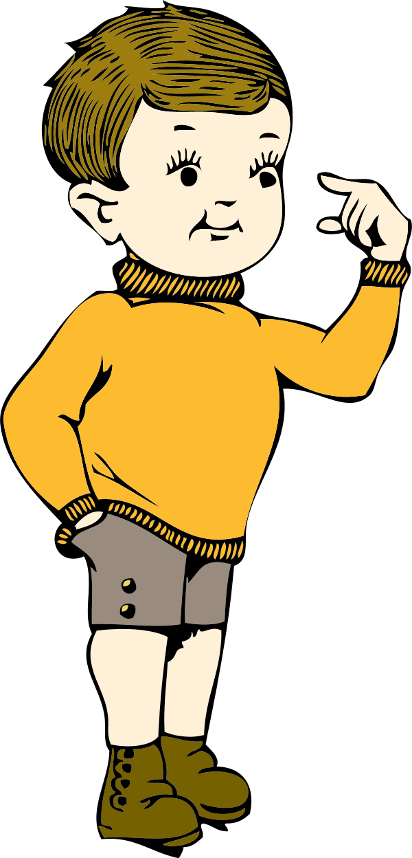 Person Pointing At Himself PNG - 47365
