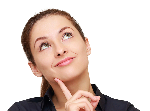 Thinking woman PNG - Person Thinking PNG HD
