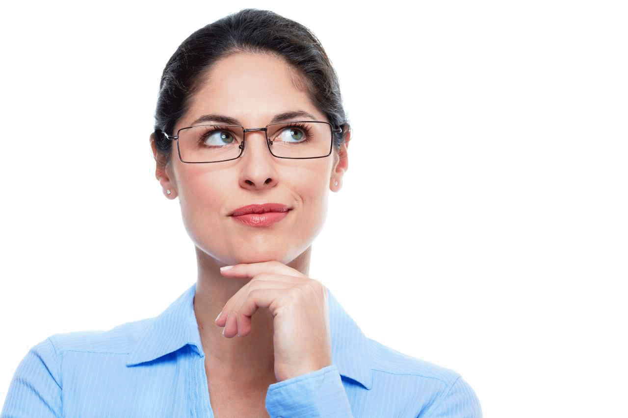Thinking woman PNG image - Person Thinking PNG HD