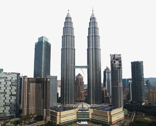 Petronas Towers, Famous Scenery, Tourist Attractions, Petronas Towers In  Kuala Lumpur Free PNG Image - Petronas PNG
