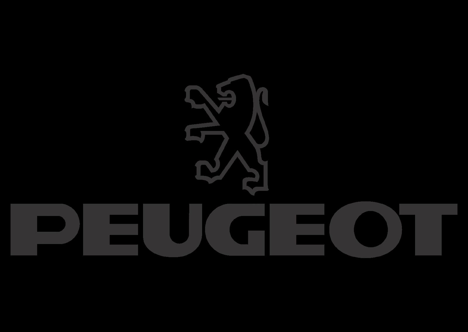 Peugeot (black white) Logo Vector - Peugeot Logo Eps PNG