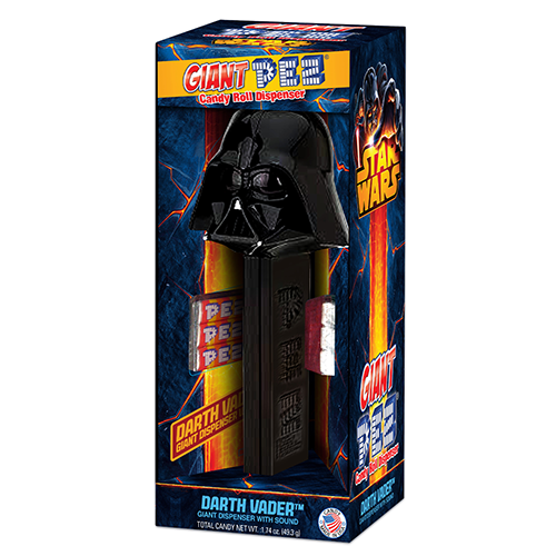 Giant PEZ Darth Vader Candy Dispenser - Pez Candy PNG