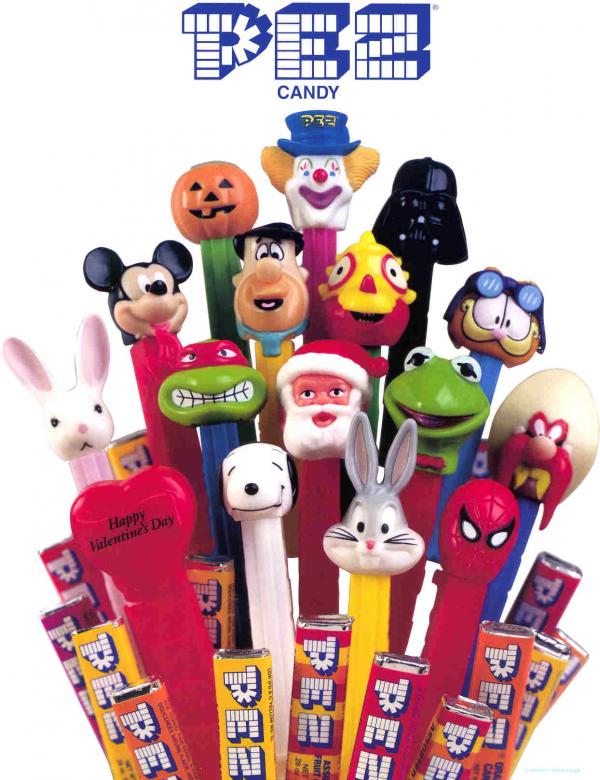 Nostalgic - Pez Candy PNG