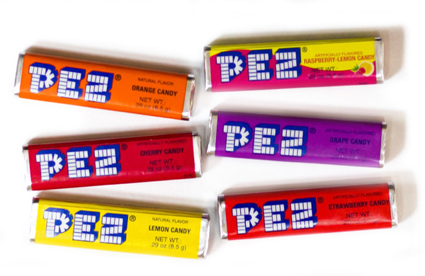 PEZ Candy Refills 6 Pack - 2ct (sold out) - Pez Candy PNG