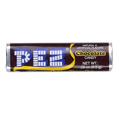 . PlusPng.com PEZ Chocolate Candy Roll .29 oz. - 8 PackPackage Contains: 8 .29 - Pez Candy PNG