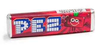 The cherry PEZ snack. - Pez Candy PNG