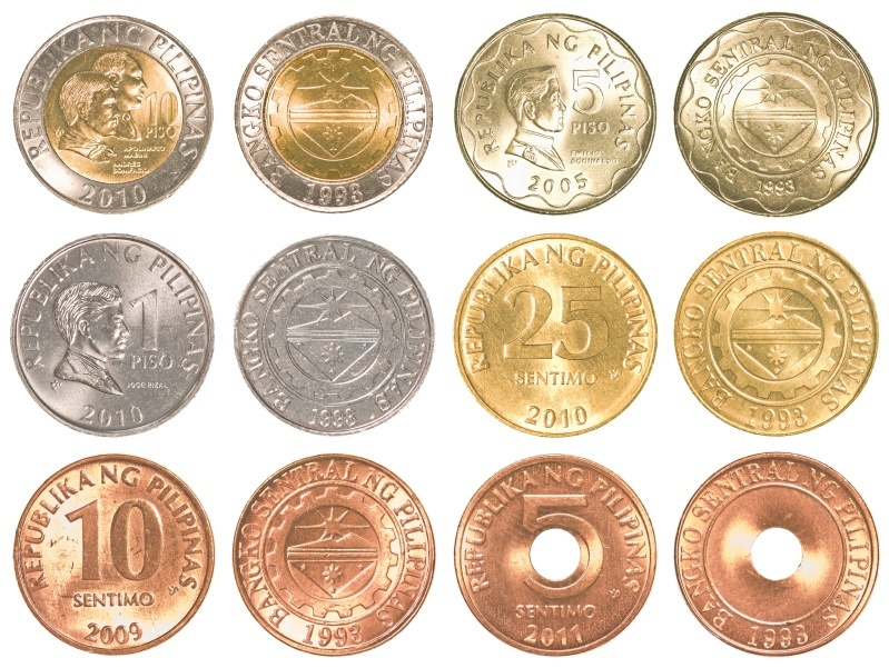 Philippine Peso Coins PNG - 72544