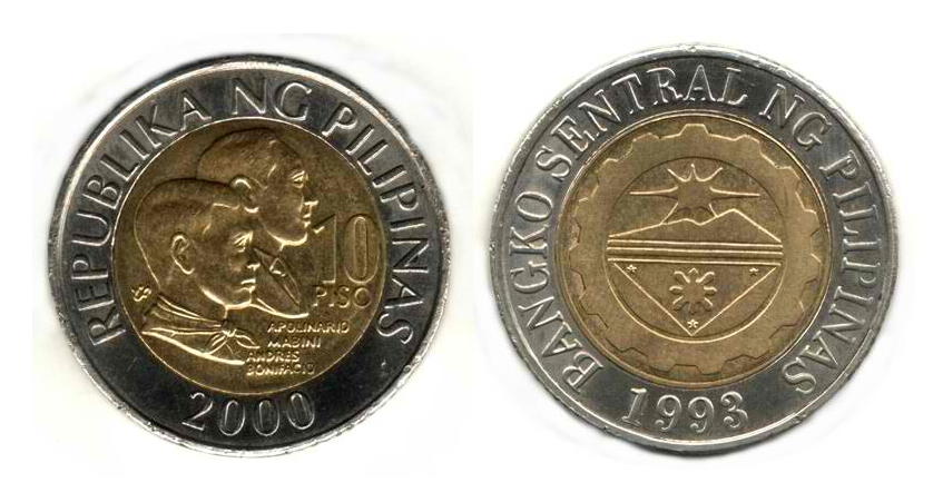 Philippine Peso Coins PNG Transparent Philippine Peso ...