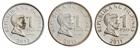 Philippine Peso Coins PNG - 72538