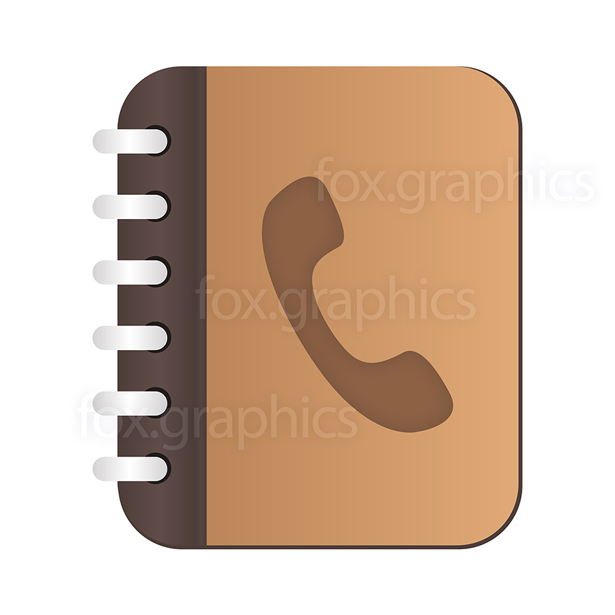 Phone Book PNG HD