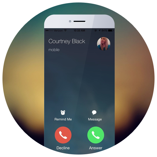 HD OS9 I Call Screen:Phone 6s Icon - Phone Call PNG HD