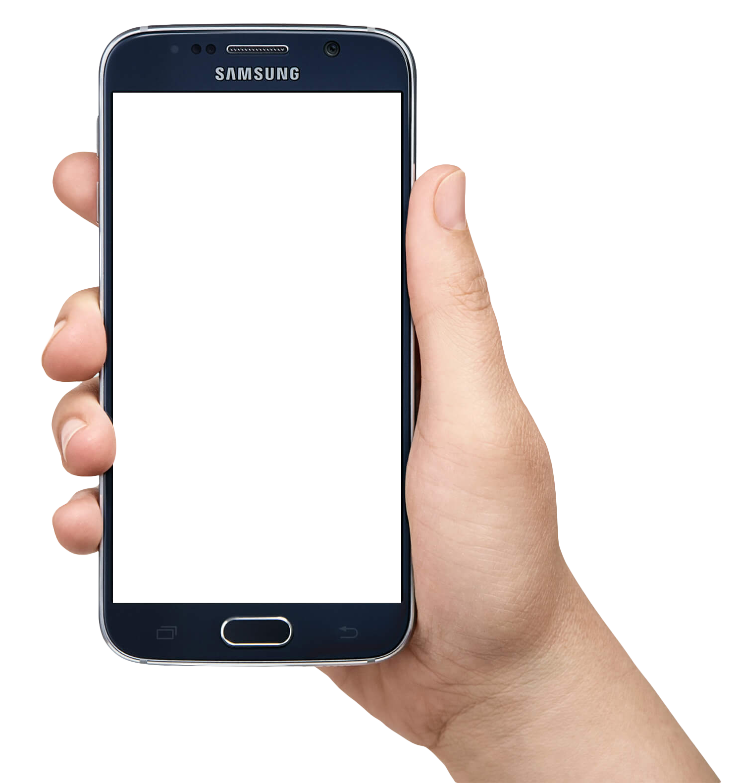 Hand Holding Smartphone PNG Image - Phone HD PNG