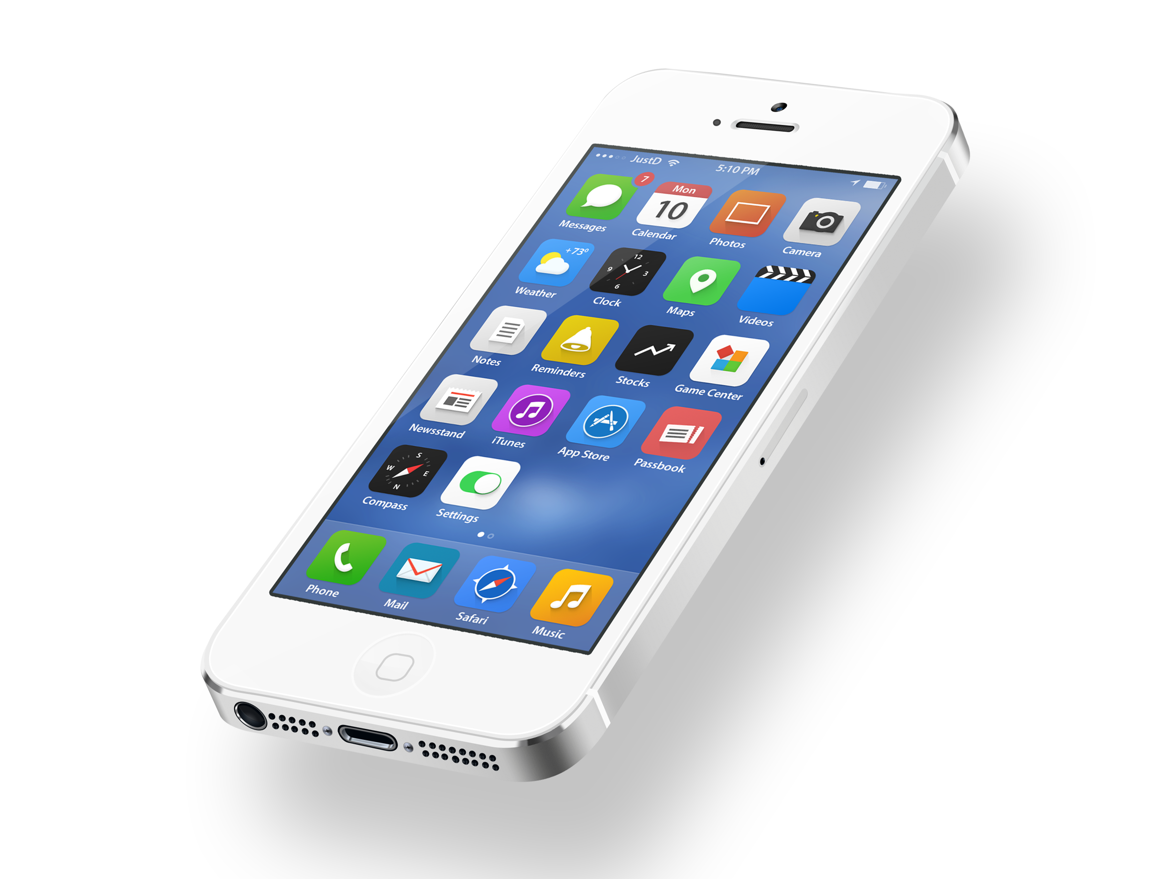. PlusPng.com iOS7-HD.png PlusPng.com  - Phone HD PNG