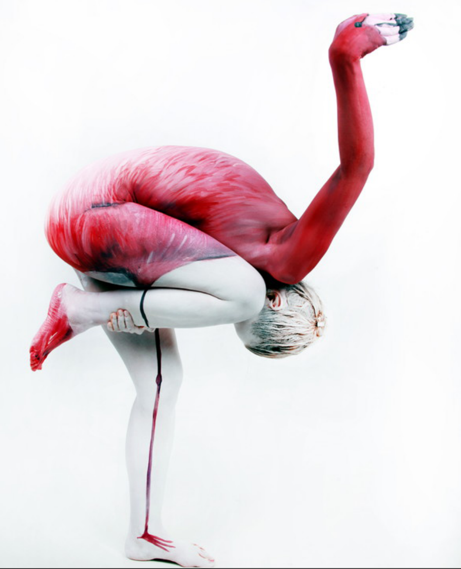 PHOTOS: This German Artist Is Creating Some Stunningly Surreal Body Art - Body Art PNG