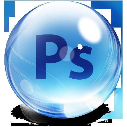 Glassy Adobe Photoshop Icon image #5515 - Photoshop PNG