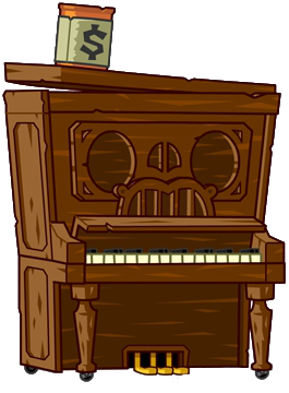 File:HD Pianist Zombie Piano.png - Piano HD PNG