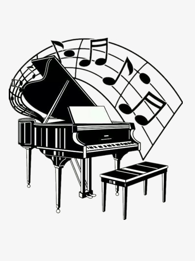 Piano notes, Music, Musical Instruments, Piano PNG and PSD - Piano HD PNG