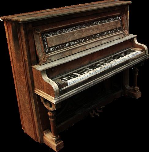 Piano PNG - 10830