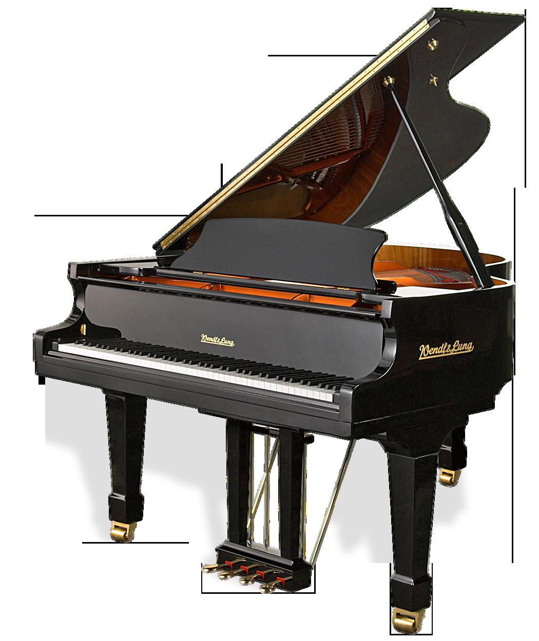 Piano PNG - 10819