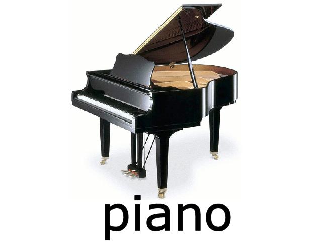 Piano PNG - 10833
