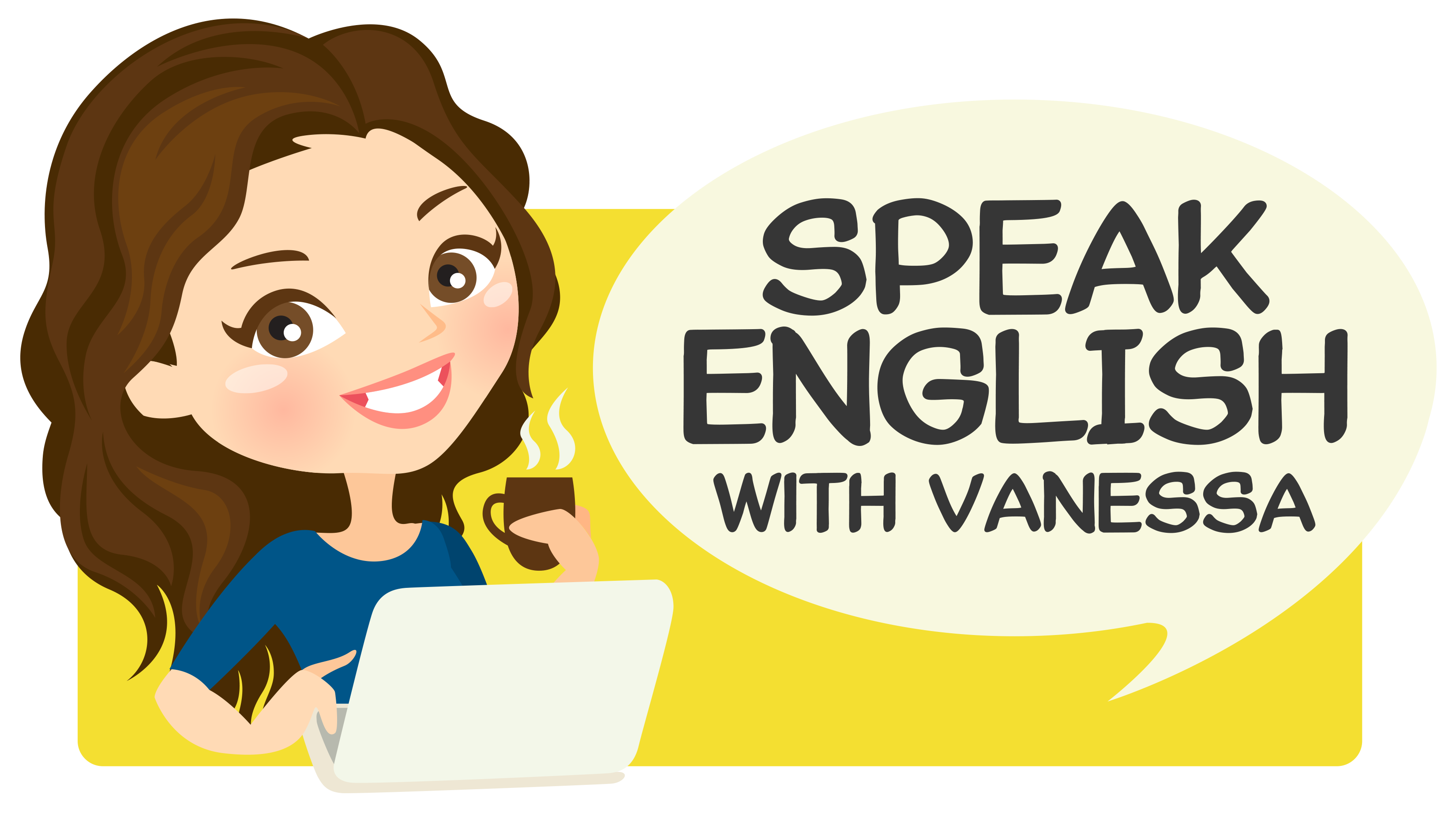 Speak English With Vanessa - Pick And Speak PNG