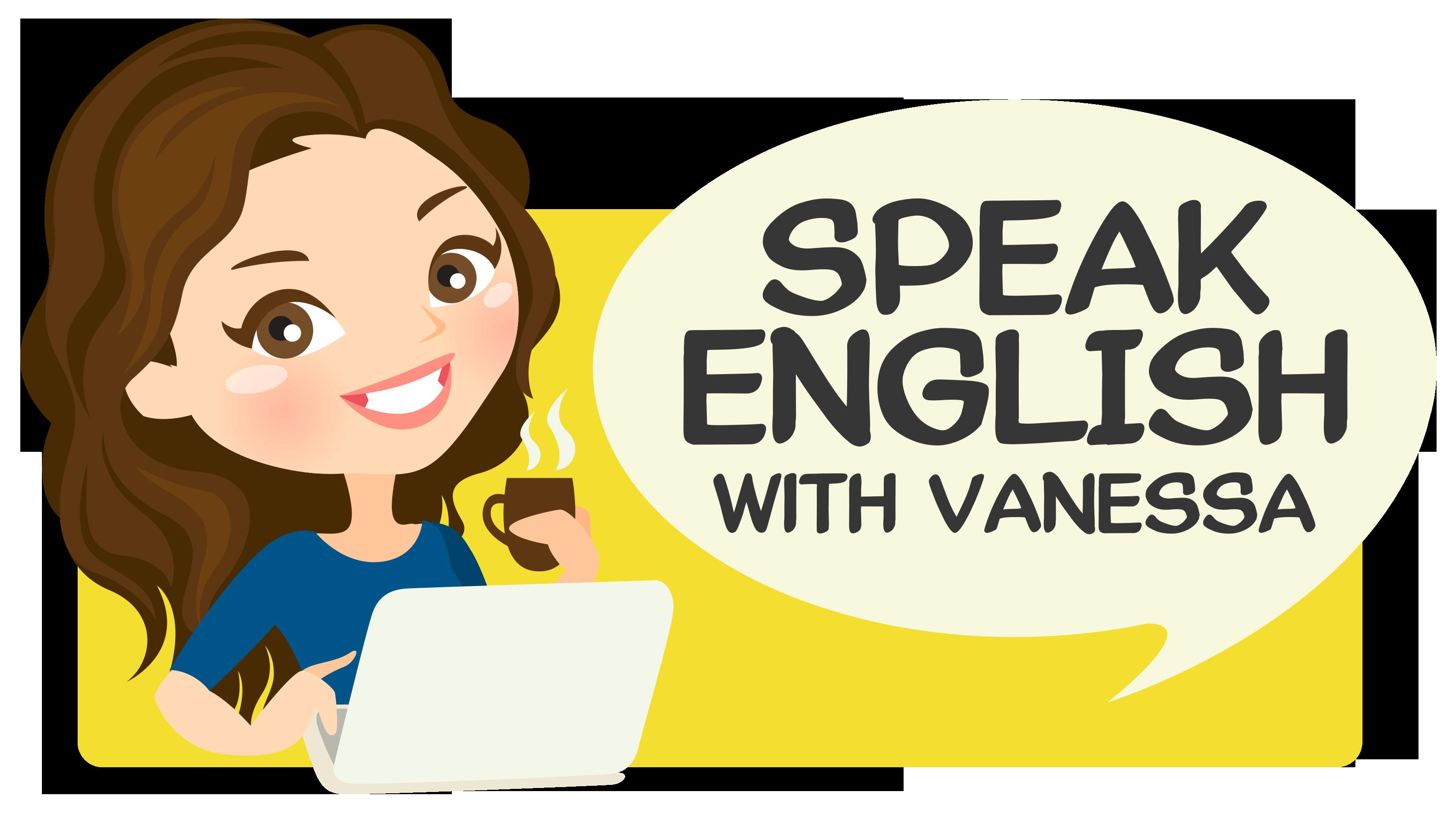 Speak English With Vanessa - Pick And Speak PNG