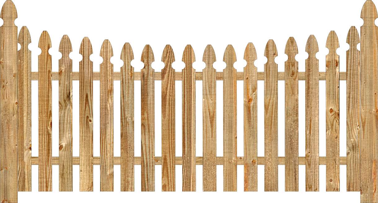 Wood Fence PNG