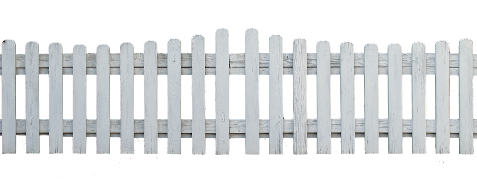 fence wood fence fence element garden fence paling - Picket Fence PNG HD