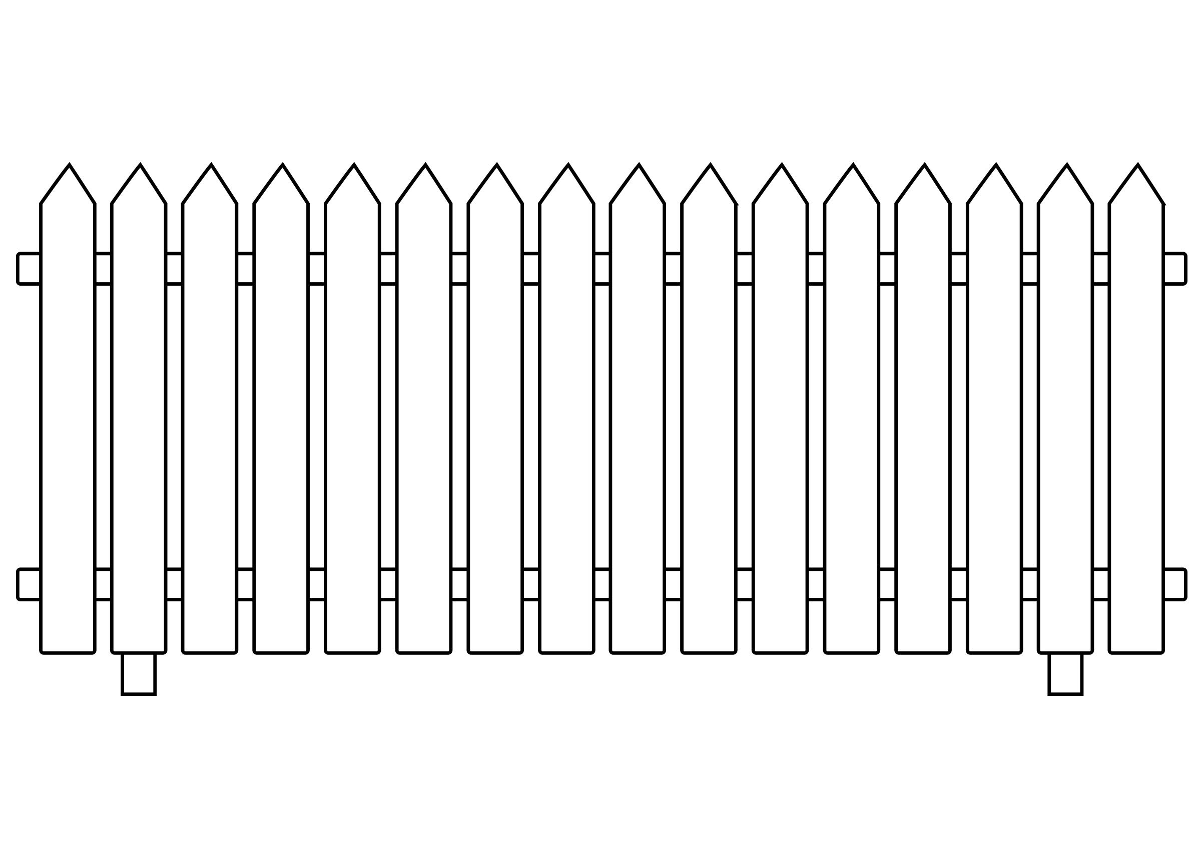 White Picket Fence. broken picket fence png - Picket Fence PNG HD