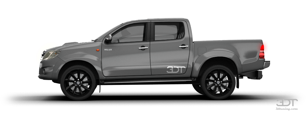 Toyota Hilux Pickup 2009 tuning PlusPng.com  - Pickup HD PNG