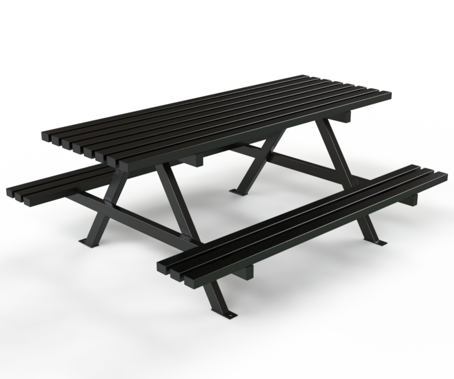 Au2013Frame Picnic Table - Picnic At The Park PNG