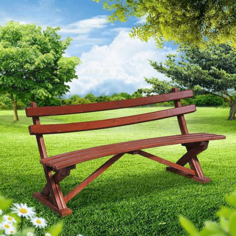 Ahşap oturma bankı - Picnic At The Park PNG