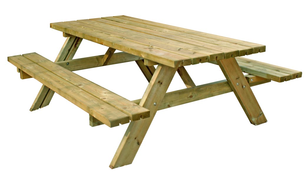 Picnic Bench PNG-PlusPNG.com-1039 - Picnic Bench PNG