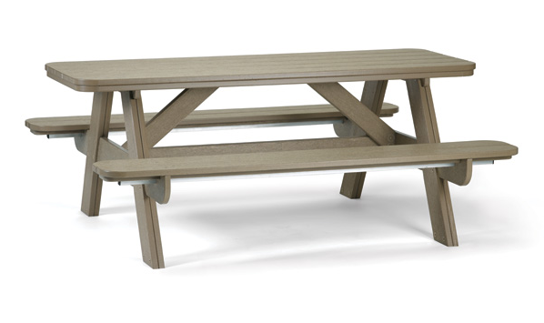6u0027 Outdoor Picnic Table Breezesta - Picnic Bench PNG