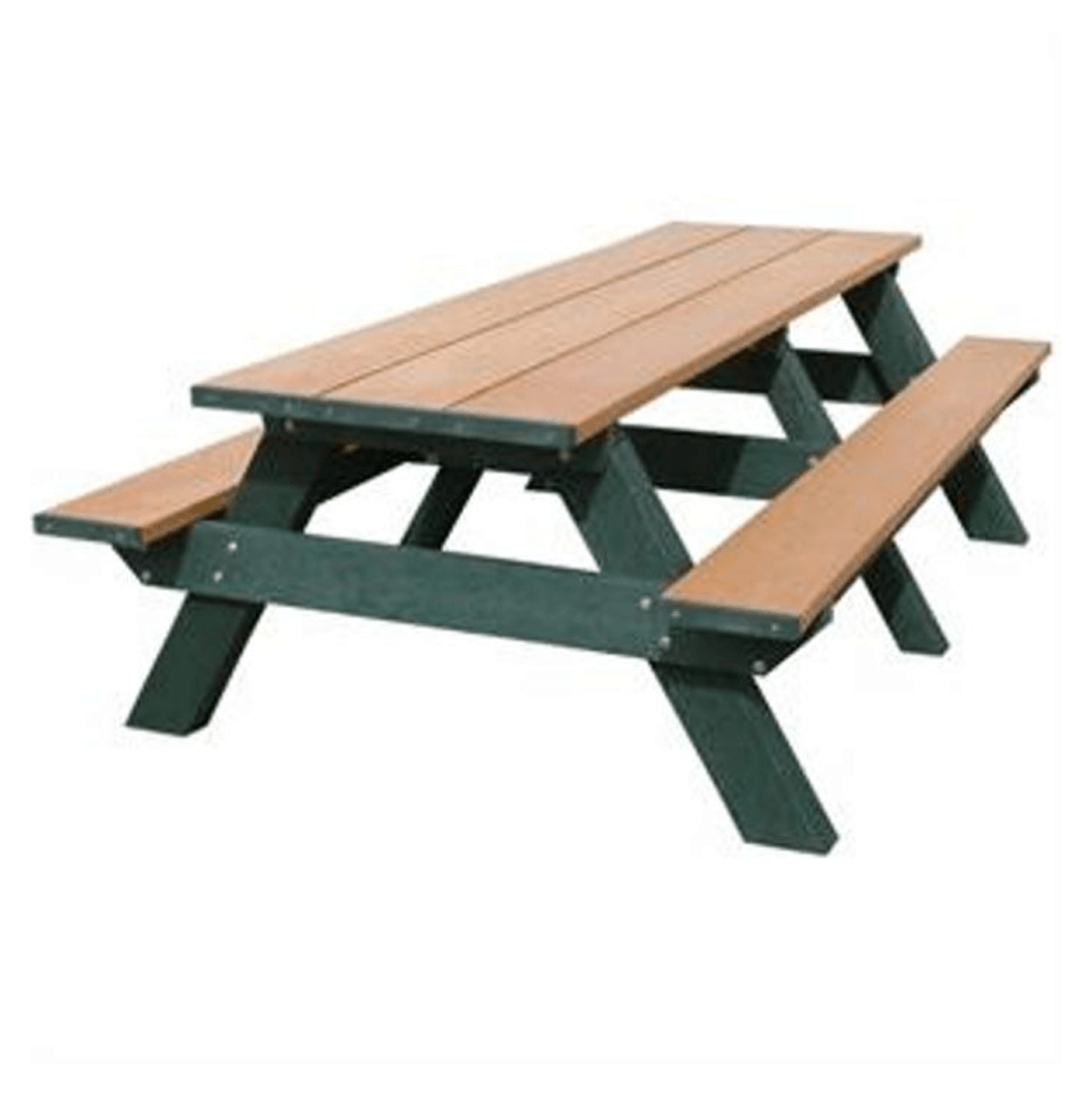 8 ft Standard Picnic Table.png 2 - Picnic Bench PNG
