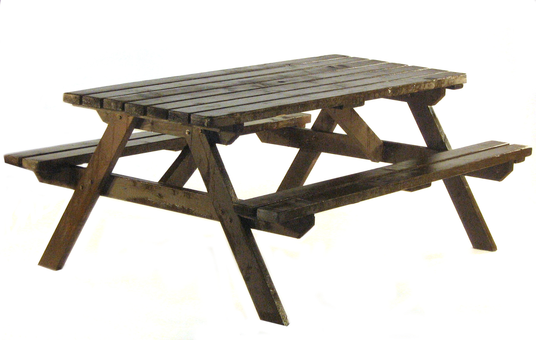 Picnic Bench Hire - BE Event Hire - Picnic Bench PNG