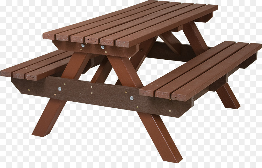 Picnic table Garden furniture Bench - bench - Picnic Bench PNG