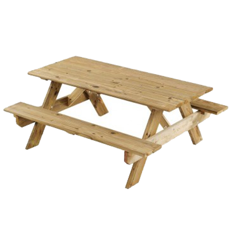Picnic Table - Wood. Product Image - Picnic Bench PNG