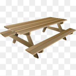 table, Picnic, Table, Wood PNG Image and Clipart - Picnic Bench PNG