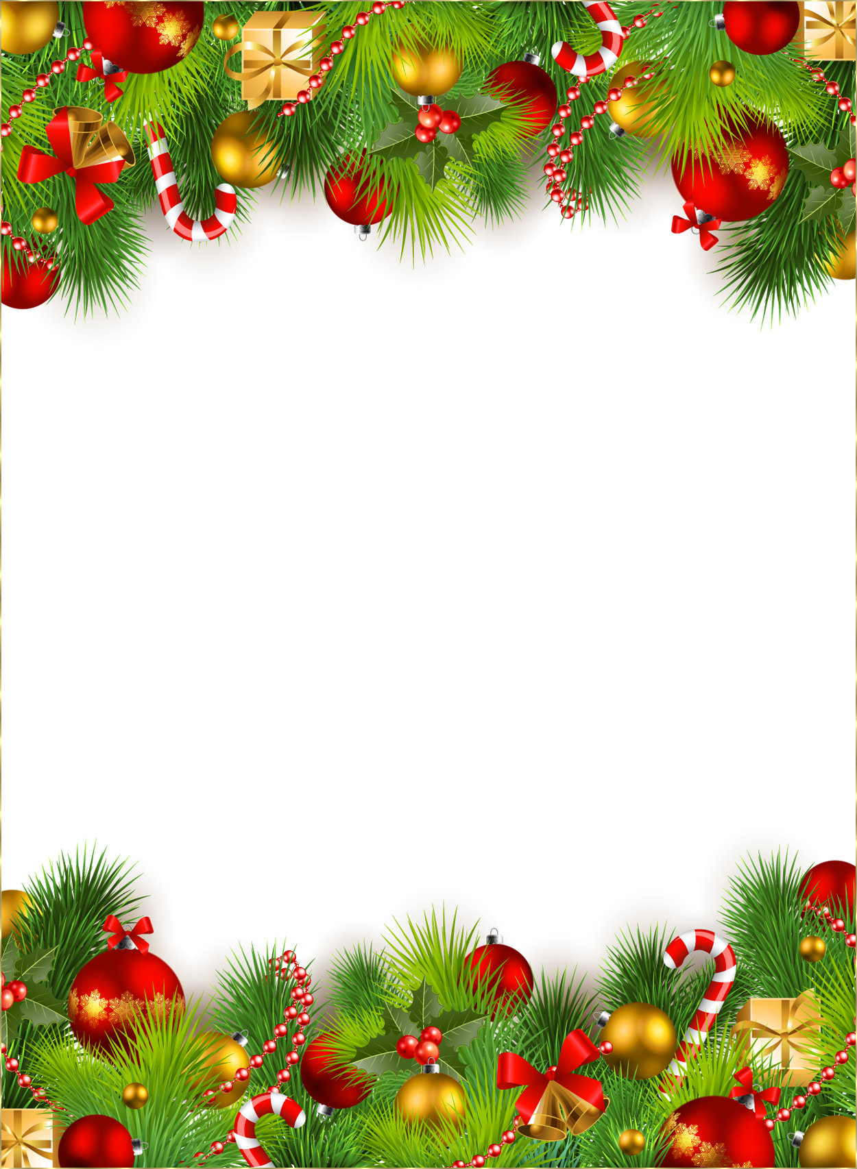 Picture Frame Christmas Ornaments | Wallpapers9 - Christmas PNG