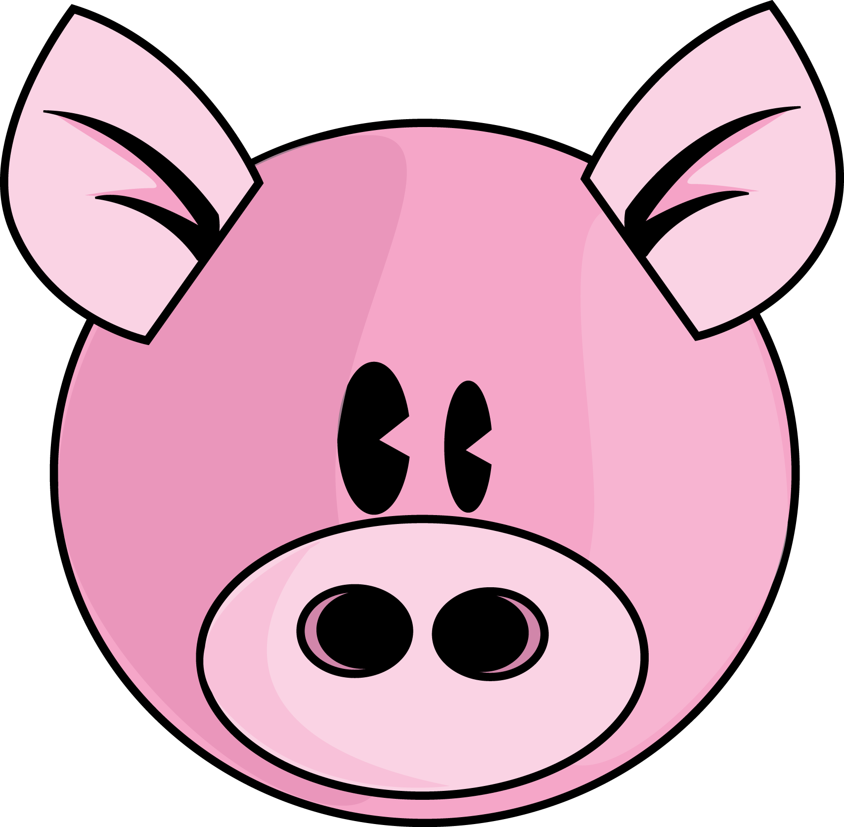 Pig Face PNG HD
