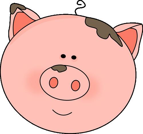 Cartoon Pig Face - Gallery - Pig Face PNG HD