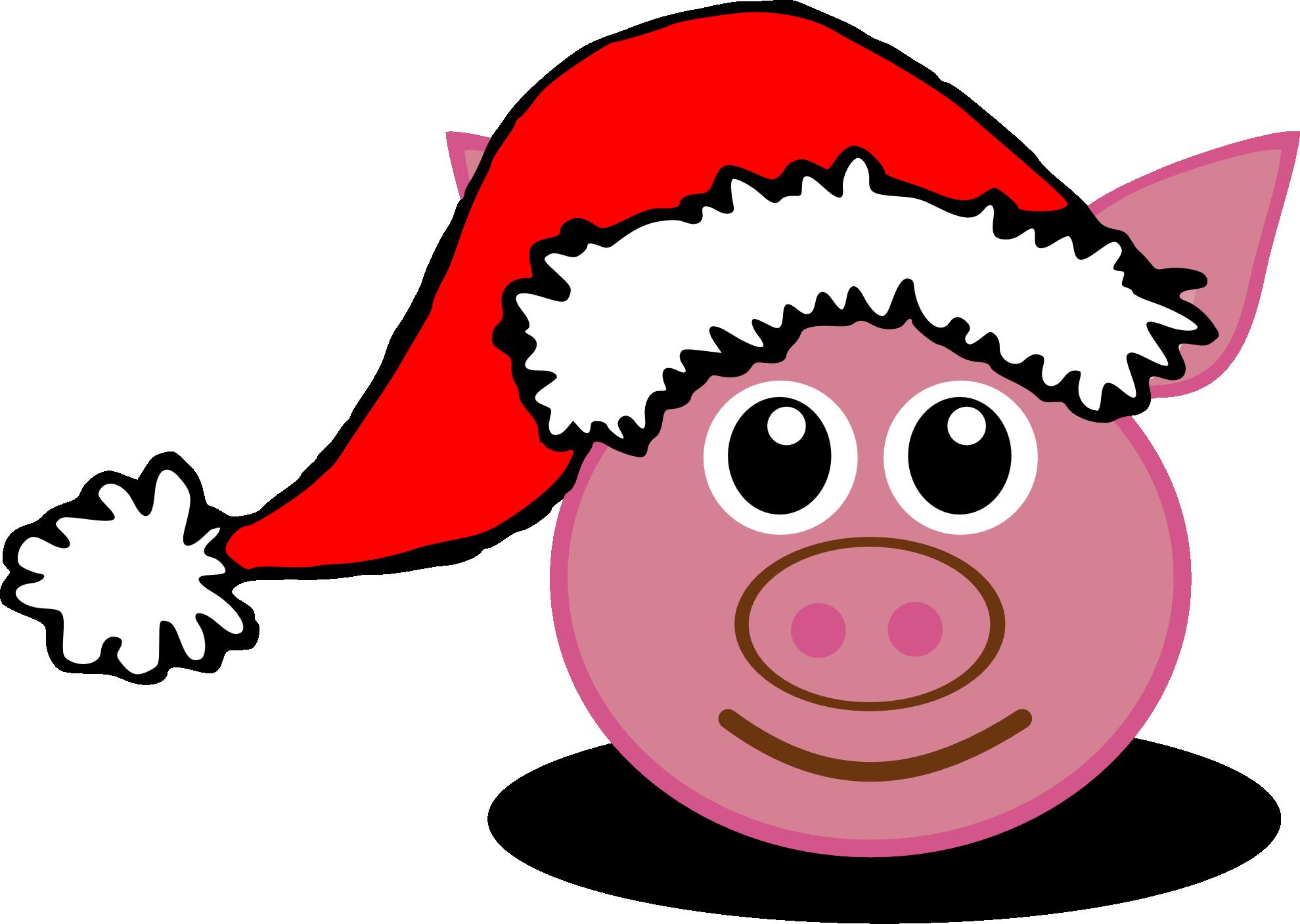 clipartist pluspng.com » Clip Art » palomaironique pig face cartoon pink - Pig Face PNG HD