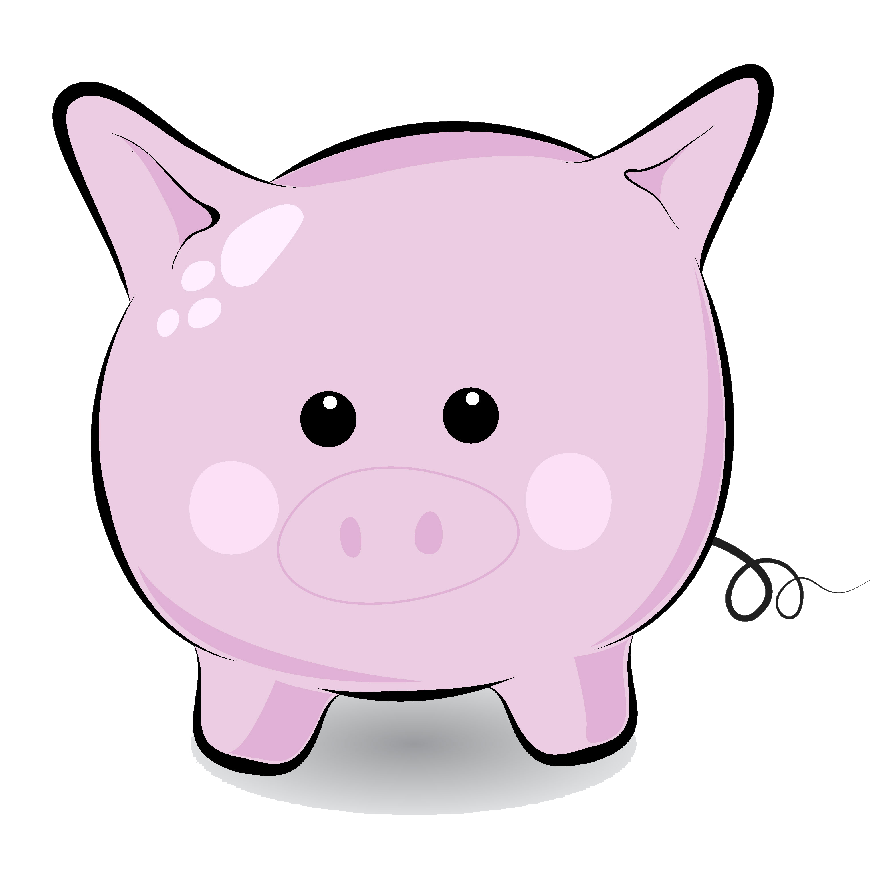 Cute pig face clip art free clipart images 4 - Pig Face PNG HD
