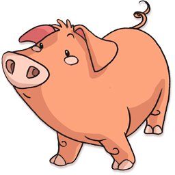 PNG File Name: Pig Transparent Background - Pig PNG