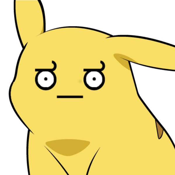 Give Pikachu a Face - Pikachu Face PNG